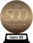Empire's The 500 Greatest Movies of All Time (bronze) awarded at 21 November 2016