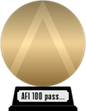 AFI's 100 Years...100 Passions (gold) awarded at 13 March 2015