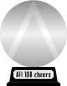 AFI's 100 Years...100 Cheers (platinum) awarded at 13 December 2012