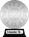 1001 Movies You Must See Before You Die (platinum) awarded at 29 October 2020