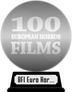BFI's 100 European Horror Films (silver) awarded at  2 April 2020