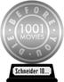 1001 Movies You Must See Before You Die (silver) awarded at 20 August 2020