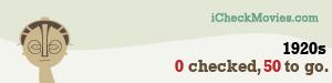 cherubino's iCheckMovies.com 1920s widget