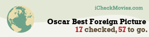TravisSMcClain's iCheckMovies.com Oscar Best Foreign Picture widget