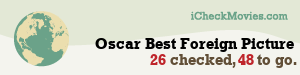 CardiffGiant's iCheckMovies.com Oscar Best Foreign Picture widget
