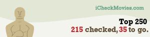 rotjong's iCheckMovies.com Top 250 widget