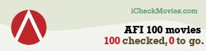 gdecubellis's iCheckMovies.com AFI 100 movies widget