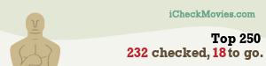 gdecubellis's iCheckMovies.com Top 250 widget