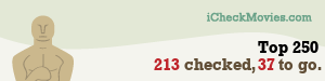 Sairentu's iCheckMovies.com Top 250 widget