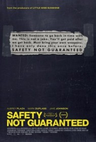 Safety Not Guaranteed's cover