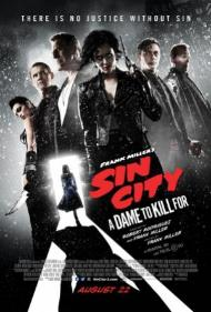Sin City: A Dame to Kill For's cover
