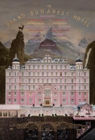 The Grand Budapest Hotel's cover