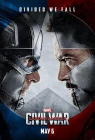 Captain America: Civil War's cover