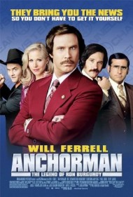 Anchorman: The Legend of Ron Burgundy's cover