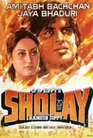Sholay's cover
