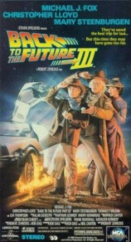 Back to the Future Part III's cover