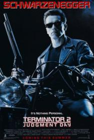 Terminator 2: Judgment Day's cover