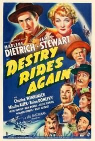 Destry Rides Again's cover