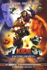 Spy Kids 3-D: Game Over's cover